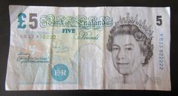 Grande-Bretagne - Billet Five (5) Pounds 2002 - 5 Pounds