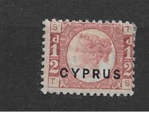 1880 MH Cyprus Michel 1 - Cyprus (...-1960)