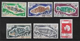 Taaf15 -T.A.A.F. N°34 à N°39 Oblitéré 6 Valeur CV + De 53,00 Euros - Unclassified