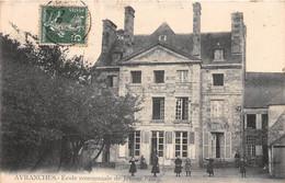 AVRANCHES - Ecole Communale De Jeunes Filles - Avranches