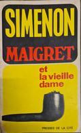 Maigret Et La Vieille Dame 1955 +++BE+++ LIVRAISON GRATUITE+++ - Simenon