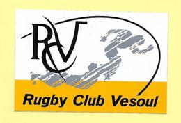 AUTOCOLLANT STICKER - RUGBY CLUB VESOUL - SPORT - CLUB SPORTIF - Stickers
