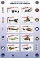 South Africa - 2020 Air Force Centenary Sheet (**) - Aviones