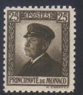 Monaco Prince Albert 1er  25 C. Brun N° 54** Neuf - Nuovi