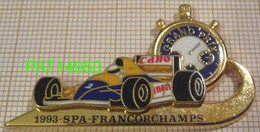 F1  SPA FRANCORCHAMPS 1993 93   WILLIAMS RENAULT En Version ZAMAC LB CREATION  Double Moule - F1