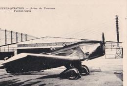 ISTRES AVIATION - BOUCHES DU RHÔNE - (13) - AVION DE TOURISME FARMAN-GIPSY. - 1919-1938
