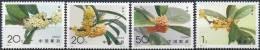1995 CHINE 3280-83** Fleur,osmanthe - Nuovi