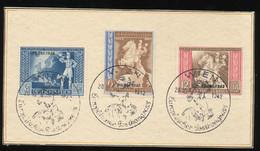 MiNr 823 - 825 Auf Karton  SSt Wien 1942 - Covers
