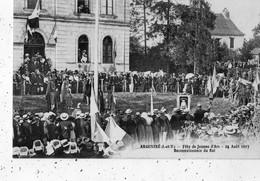 ARGENTRE-DU-PLESSIS FETE DE JEANNE D'ARC 24 AOUT 1913 RECONNAISSANCE DU ROI - Autres Communes