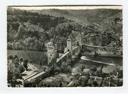 C.P °_ 46-Cahors-Perspective Du Pont Valentré-dentelée - Cahors