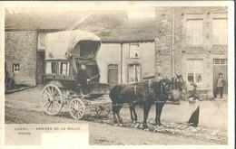 Sugny  Arrivée De La Malle-poste   Photo Gevaert - Vresse-sur-Semois