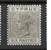 1882 MH Cyprus Michel 21-I - Cyprus (...-1960)