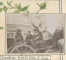Virelles 4 Mai 1902  2 Photos Sur Carton (8 Cm/5.5 Cm) - Chimay