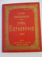 ALBUM  PHOTOGRAPHIQUE  DE  L ' EXPOSITION  PARIS  1900      LIBRAIRIE  TARIDE -  DEPLIANT  DE  36  PHOTOS   TTB - Other