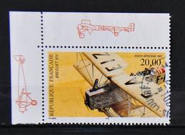 FRANCE 1997 - PA N° 61 - Biplan Breguet XIV - Cachet à Date Et Coin De Feuille - 1960-.... Used