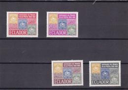 Ecuador Nº 744 Al 747 - Ecuador