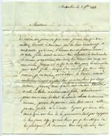 Montpellier 1813. Lettre De Mme Barthélémy à Blanchard Médecin à Pernes, Qui Serait Le Père De Sa Fille. Supplique. - Manuscripts