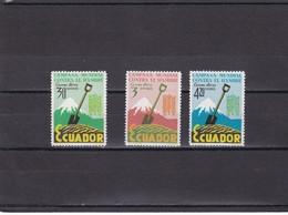 Ecuador Nº A399 Al A401 - Ecuador