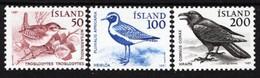 Iceland - 1981 - Birds - Mint Definitive Stamp Set - Ungebraucht