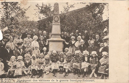 SERVIGNY Lès RAVILLE .Monument Des Victimes De Guerre Servigny-Frécourt - Other Municipalities