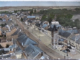 PONT SUR SAMBRE EN AVION AU DESSUS DE... LA GRAND RUE CARTE COULEUR LAPIE - Altri Comuni