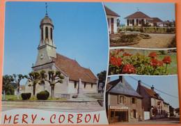 CARTE MERY CORBON - 14 - VUES DIVERSES - SCAN RECTO/VERSO - 5 - Altri Comuni
