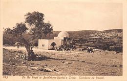 Palestine - BETHLEHEM - Rachel's Tomb - Publ. Sarrafian Bros.633 - Palestine