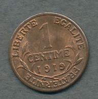 1 Centime Dupuis 1919 - A. 1 Centime