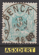 N° 45  Relais *Genck* 1888  Coba 30 - 1869-1888 Lying Lion