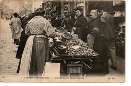 Paris - Photo Carte - N° 880 - Scènes Parisiennes - Marchandes Des Quatre Saisons - ND Photo - Circulé: 1907 - 2 Scans - Ambachten In Parijs
