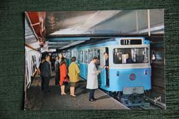 PARIS - Le Métro, Rame Sur Pneumatique En Station. - Subway