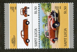BC 6716 *Offers Welcome* 1986 Sc 854 Mnh** - St.Lucie (1979-...)
