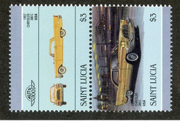 BC 6718 *Offers Welcome* 1986 Sc 855 Mnh** - St.Lucie (1979-...)