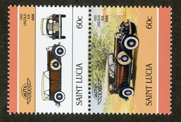 BC 6719 *Offers Welcome* 1986 Sc 852 Mnh** - St.Lucie (1979-...)