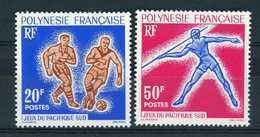Polynésie  -  1963  :  Yv  22-23  ** - Neufs