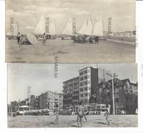 Lot De 6 CPSM Grand Format - Belgique - La DE PANNE (plage, Chars à Voile, Digue, Un Bonjour De - De Panne