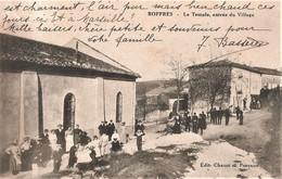 BOFFRES - Le Temple Protestant. Animation à L'entrée Du Village - Andere Gemeenten