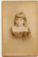 CDV Cabinet Card XIX Enfant Fille Girl Kid Boy Garçon ? Superbe Beauty NICE CLAUDIUS COUTON Vichy - Antiche (ante 1900)