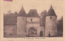 Chazelet 36 - Entrée Du Château - 1936 - Other Municipalities