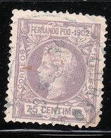 Fernando Poo 1902 ED 114 (el De La Foto) - Fernando Poo