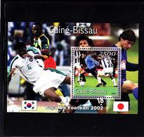 Soccer World Cup 2002 - GUINEA BISSAU - S/S - 2002 – Corea Del Sur / Japón