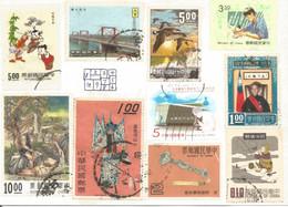 (TAIWAN) STAMPS POSTCARD - Used Card, Dog Stamp - Taiwan