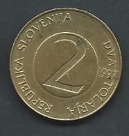 MONNAIE    SLOVENIE : 2 TOLARJEV 1997   --   Pic 5310 - Slovenia