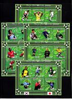 Soccer World Cup 2002 - MOZAMBIQUE - 6 Sheets MNH - 2002 – Corea Del Sur / Japón