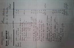 H 1 Facture/document Entete Charpente à Jallais - Sin Clasificación