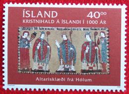 Holy Year ANNO SANTO Christianity In Iceland 2000 Mi 941 Postfris MNH ** ISLAND IJSLAND ICELAND ISLANDE - Ungebraucht
