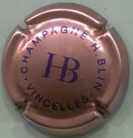 CAPSULE-CHAMPAGNE BLIN H & C. N°10 Rosé & Bleu Foncé - Other