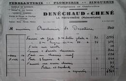 H 1 Facture/document Entete Plomberie La Poitevinière - Sin Clasificación