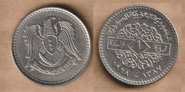 SIRIA 1 Lira  (1968) Nickel • 7.5 G • ⌀ 27 Mm KM# 98, Schön# 31 - Syria