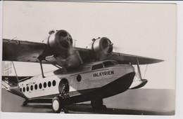 Vintage Rppc Det Norske Luftfartselskap D.N.L. Sikorsky  S-43 Flyingboat Aircraft - 1919-1938